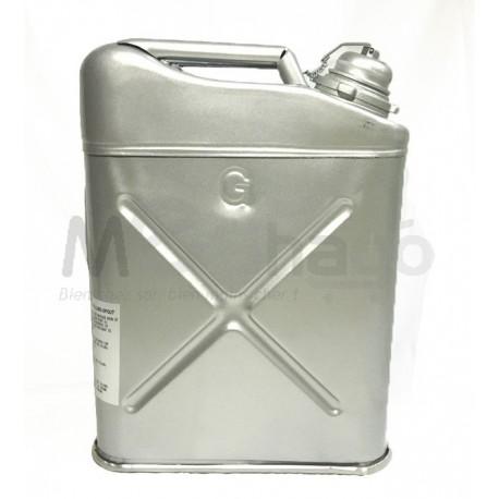 Jerricane à essence 20 litres - Acier léger