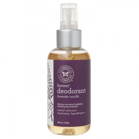Déodorant Naturel, Lavender Vanilla, 4 oz
