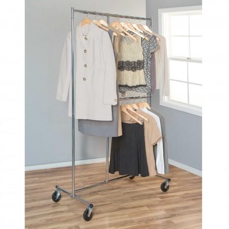 Support de vêtement 2 rangés/ 2 niveaux