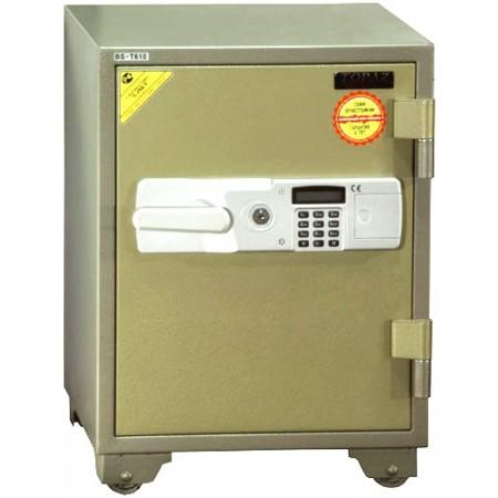 Coffre fort résistant au feu équipé d'une combinaison numérique