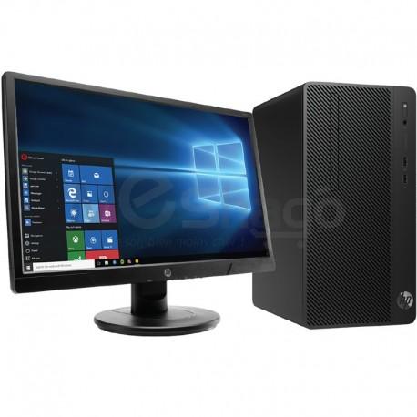 Pc de Bureau + Antivirus, MicroTour HP 290 G1 Dual Core RAM 4Go, Disque 500Go