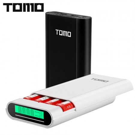 Powerbank, Nouveau TOMO M4 intelligent - Batterie C4 X 18650 Li-ion 5 V 2A