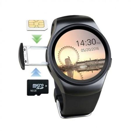 Montre Intelligente Smart Watch, avec Passometer Moniteur de Fréquence Cardiaque, Synchro IOS-Android