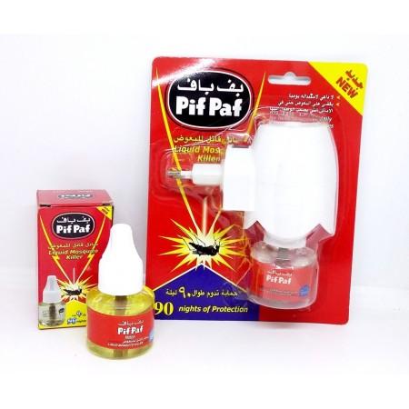 PifPaf Electrique, Diffuseur Anti Moustique liquide