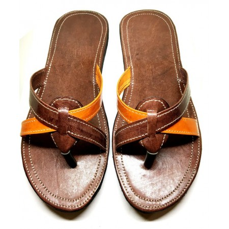 "Chaussure ""Balka"" femme - 100% cuire"