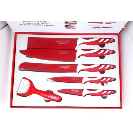 Royalty Line Ensemble de 5 couteaux antiadhésive