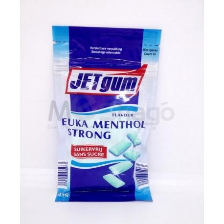 (Pour Diabétique) - Euka Menthol Strong Chewing-gums sans sucres, avec édulcorants 45g