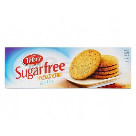 (Pour Diabétique) - Biscuit Tiffany Farine d'avoine sans sucre, 150g