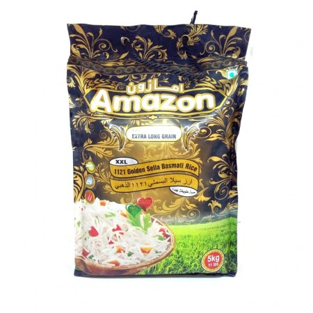(Pour Diabétique) - Riz Basmati , AMAZON Long Grain- 5Kg