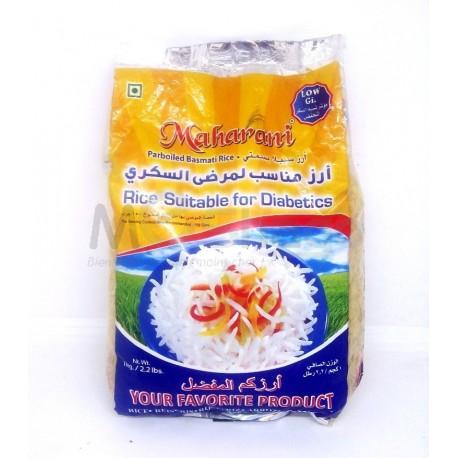 (Pour Diabétique) - Maharani riz Basmati 1kg