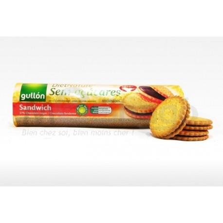 (Pour Diabétique) - Gullon Sandwich Choco Sans Sucre ,250 g