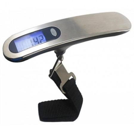 Balance digitale à bagages 50kg / 10g - ARGENT