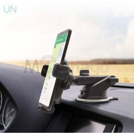 Support mobile pour voiture, réglable pour pare-brise / tableau de bord / au sur bureau de travail.