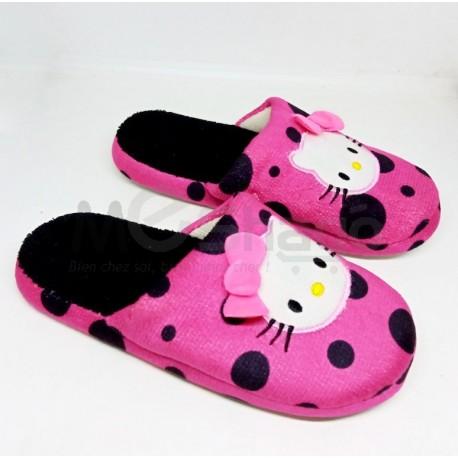 Pantoufles Femme/Filles - Chaussure de chambre 100% coton