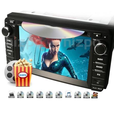 Radio, Ecran tactile, Caméra De Recule, lecteur DVD - pour Toyota RAV4, COROLLA, CAMRY, HILUX, Land Cruiser, PRADO, Hightlander