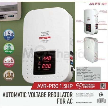 Régulateur de tension automatique - Stabilisateur pour courant alternatif - AVR-Pro - 1.5 CV