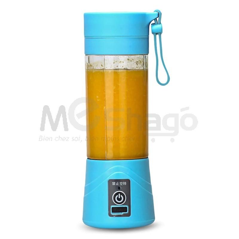 Mixeur de jus portable , 400ml, rechargeable via USB