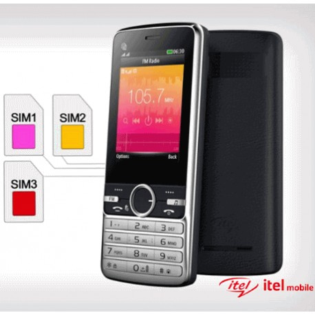 ITEL it 5010 avec 3 SIM