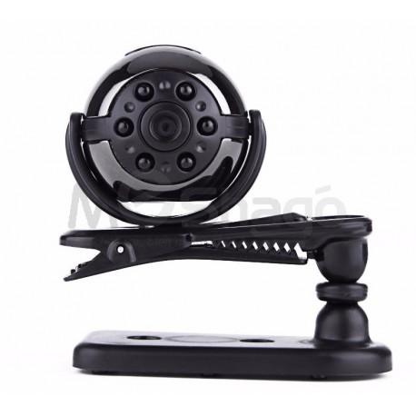 Mini DV caméra Vision nocturne 1080px avec mode détection de mouvement