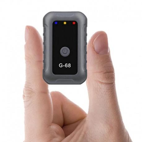 Mini traqueur GPS G68 ,GSM, GPRS, Wifi, LBS, rechargeable , autonomie en fonction 3 jours