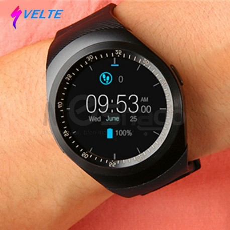 Svelte,Montre Intelligent Smart Watch compatible avec Android et iPhone , support Bluetooth , Carte SIM et mémoire