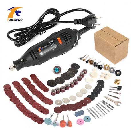 Mini perceuse Dremel à précision, graveur 30000 tr/min outil graveur électrique avec plusieurs outils de travail