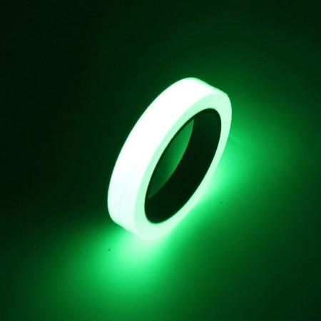 Ruban adhésif lumineux pratique 1cm/10m, lueur dans le noir, décorations pour la maison.