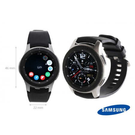 Samsung Galaxy Watch eSIM Gris Acier (46 mm)/ Android