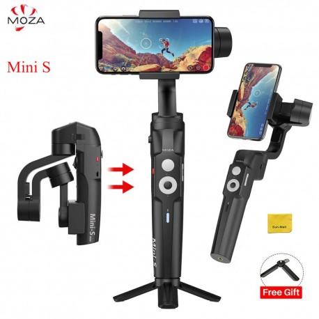 Canne MOZA Mini-S Stabilisateur 3 Axes Cardan pour Téléphone