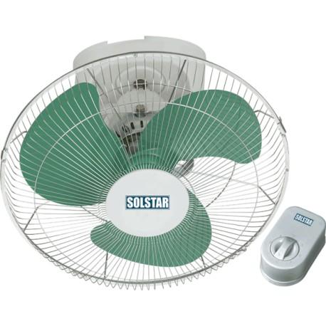 "Ventilateur Plafonnier Solstar 16"" FB1601H-WHSS"