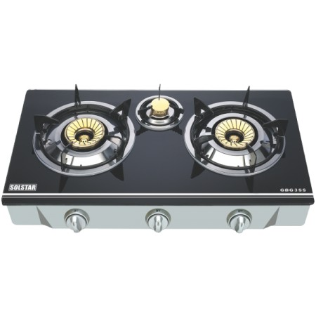 Cuisinière table Solstar à 3 feu G3SS