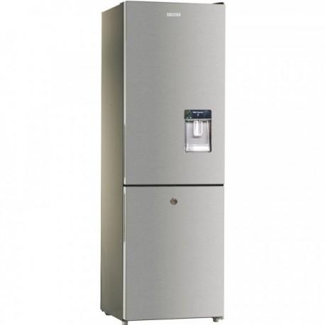 Réfrigérateur Combiné Solstar 395 Litres Avec 4 Tiroirs De Congélation + Fontaine - RF395-BDINVSS