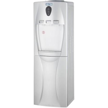 SOLSTAR Fontaine d'eau chaude, froide et normale WD64C-SLVSS