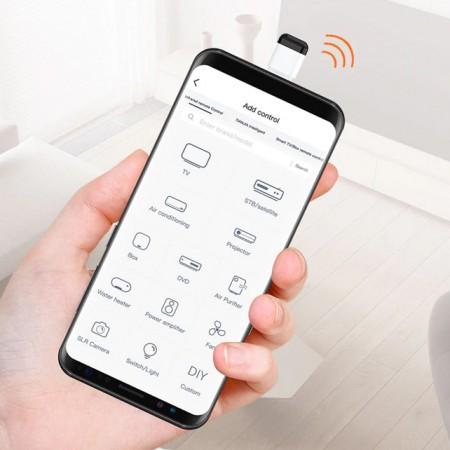 Adaptateur intelligent à télécommande IR pour téléphone Android - Type C et Mirco USB