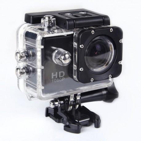 """Dash Cam 30FPS, écran 2.0 """"LCD, étanche, plongée 30 M sport"""