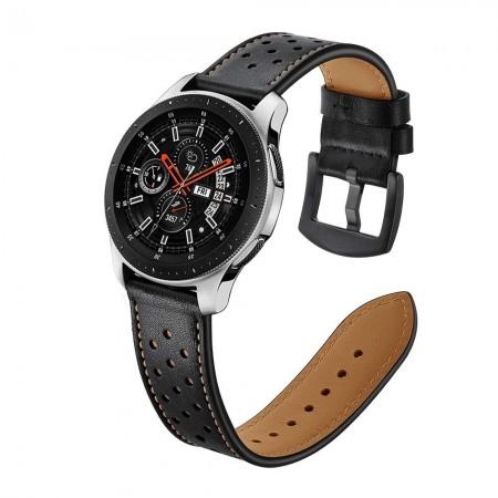 22mm bracelet en cuir pour Samsung Galaxy montre 46mm Gear S3 S2