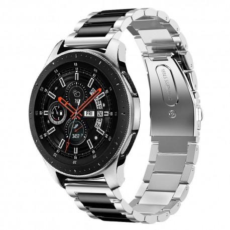 Bracelet universelle en acier inoxydable 22mm pour Pour Samsung Galaxy Montre 46mm Gear S3 S2