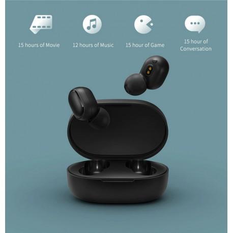 Ecouteur original Xiaomi Redmi , avec micro intégré et touche multifonction ntrôle