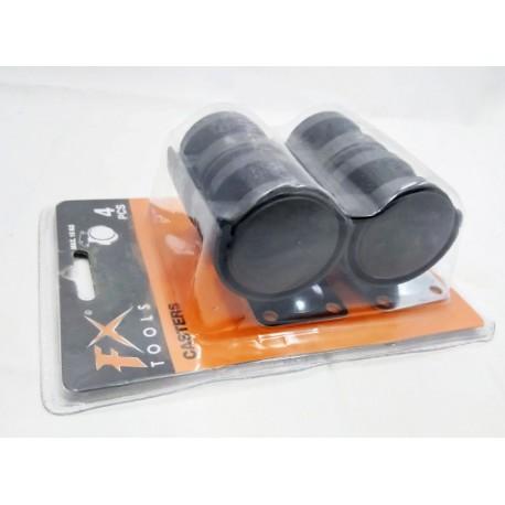 4 pièces de roulette Fx Tools , en caoutchouc de protection du sol