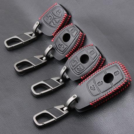Protège clé en cuir pour Mercedes Benz