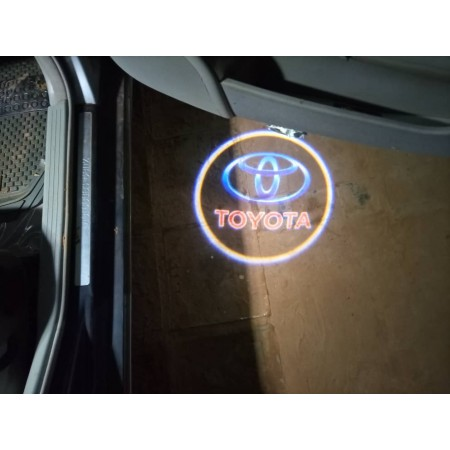 Led projecteur de logo TOYOTA pour portières