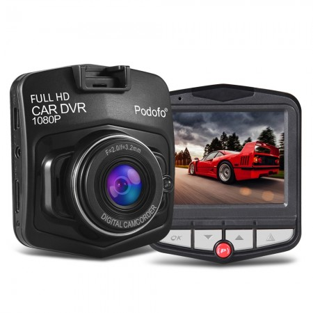 Caméra de bord Podofo A1, Enregistreur de route