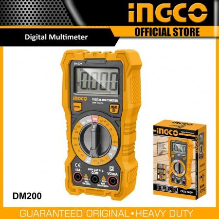 Multimètre numérique INGCO DM200