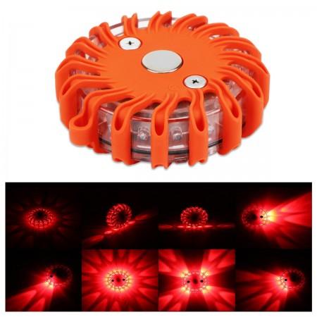 Éclairage de sécurité routière, couleur LED rouge