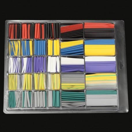 500 pièces de tube thermo rétractable, isolation tube polyoléfine pour électronique
