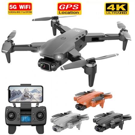 Drone Professionnelle L900 5G GPS 4K, 28min temps de vol moteur sans brosse quadrirotor distance 1.2km