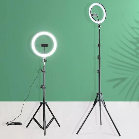 """Anneau lumineux à LED de 12"""" pouces avec Trepied"""