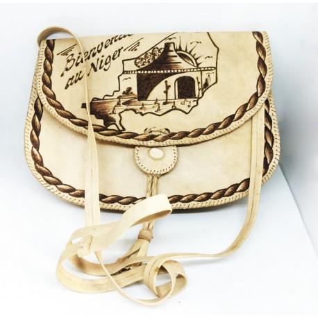 Jolie petite sac à main, 100% cuire