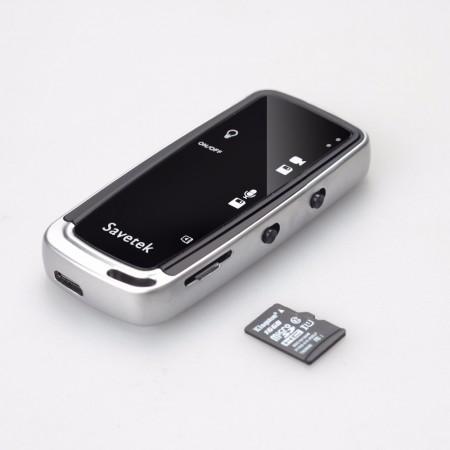 Savetek Mini Caméra espion Portable - Forme de Porte-clés HD 720P