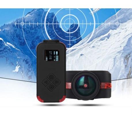 caméra de sport multifonctionnelle Airsoft 1080P / 4K HD, caméra d'action pour Drone